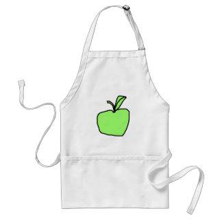 Green Apple. Adult Apron