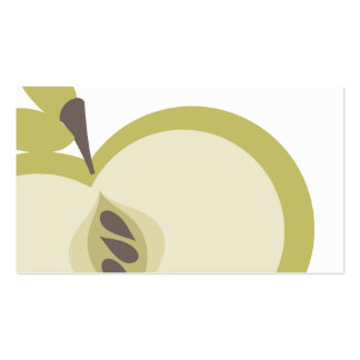 green apple cooking baking culinary fruit business pack of standard business cards