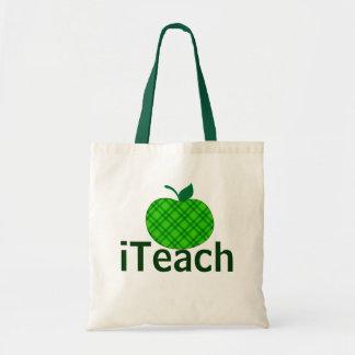 Green Apple iTeach Teacher's Tote Bag