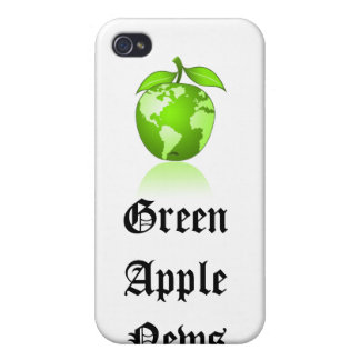 Green Apple News iphone case iPhone 4/4S Cases