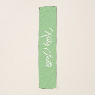 Green Apple Personalized Fashion Accessory Scarf
