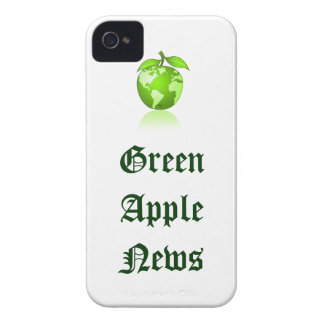 Green Apple phone iPhone 4 Cases
