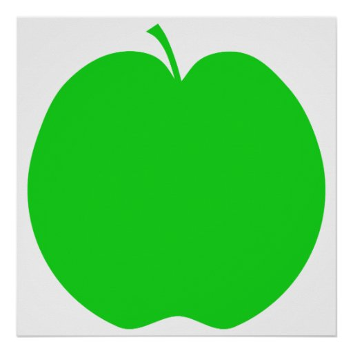 Green Apple. Poster