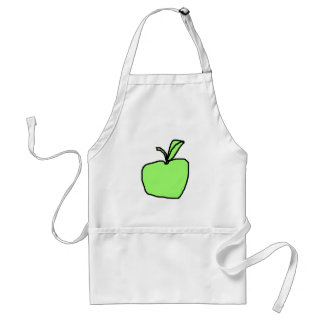 Green Apple. Standard Apron