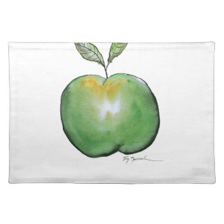 green apple, tony fernandes placemat