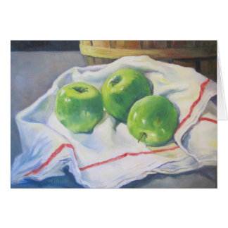 Green Apples Card