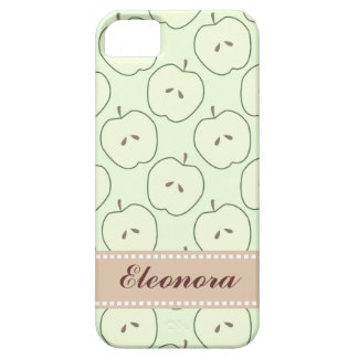 Green Apples, Fruit Pattern iPhone 5 Covers