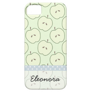 Green Apples Fruit Pattern iPhone 5/5S Case