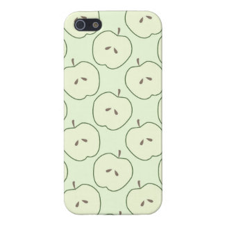 Green Apples Fruit Pattern iPhone 5 Cases