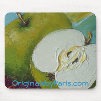 Green Apples Mouse Pad