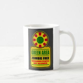 Green Area Zombie Free Mug