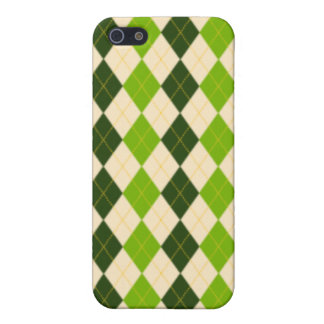 Green Argyle iphone 4 Cases For iPhone 5