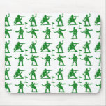 Green Army Men Mouse Pad