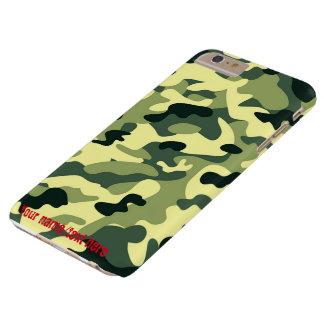 Green Army Navy Air Force Camo iPhone 6 Plus Case