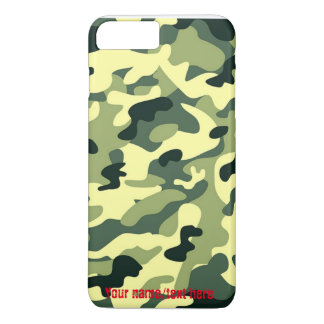 Green Army Navy Air Force Camo iPhone 7 Plus Case