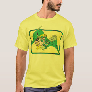 Green Arrow Head Shot T-Shirt