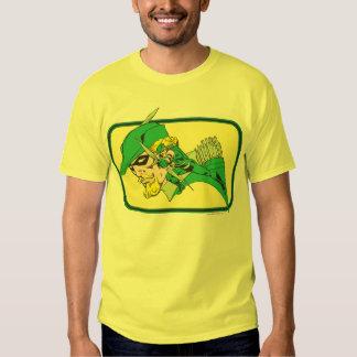 Green Arrow Head Shot Tee Shirt
