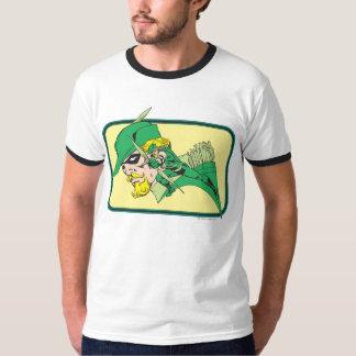 Green Arrow Head Shot Tshirts