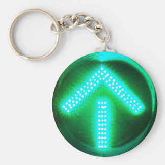 Green Arrow Key Ring
