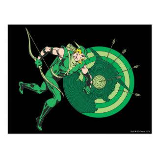 Green Arrow with Target 2 Postcard