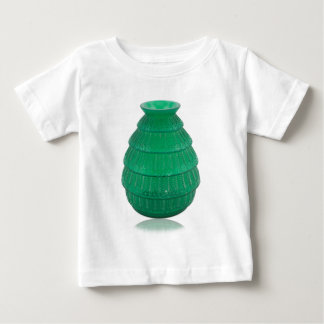 Green Art Glass Vase Baby T-Shirt