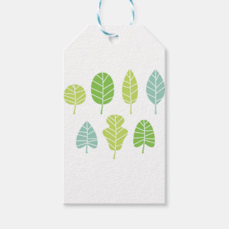 GREEN ARTISTIC T-Shirts Gift Tags