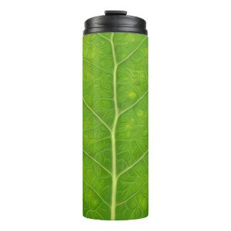 Green Aspen Leaf #11 Thermal Tumbler