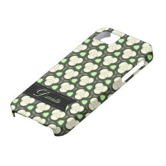 Green Atoms Modern pattern  iPhone 5 Case-mate