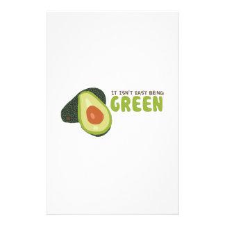 Green Avacado Personalised Stationery
