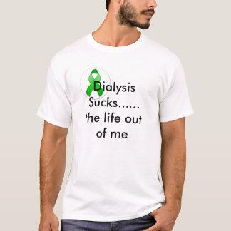 green_awareness_ribbon_round_sticker-p217482050... T-Shirt