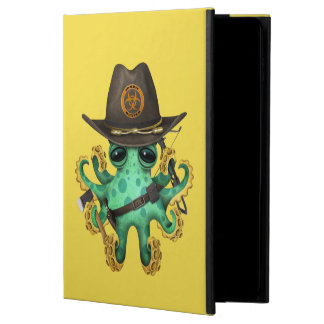 Green Baby Octopus Zombie Hunter Powis iPad Air 2 Case