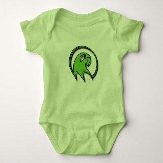 Green Baby Parrot sleeper Baby Bodysuit