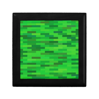 green background gift box