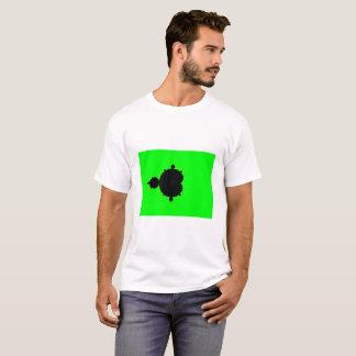 Green Background Mandelbrot Fractal T-Shirt