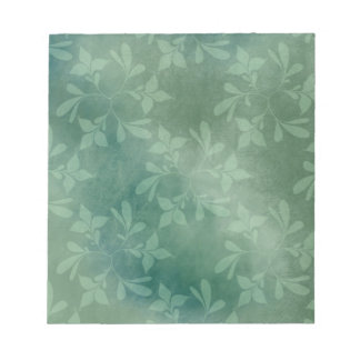 Green background notepad