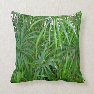 Green Bamboo Asian Home Decor Cushion