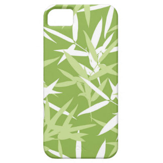 Green Bamboo Leaves Unique Pattern iPhone 5 Covers