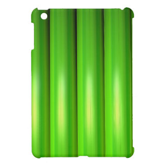 Green bamboo set cover for the iPad mini