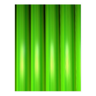 Green bamboo set postcard