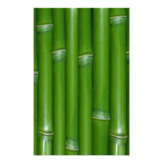Green Bamboo Stationery Design