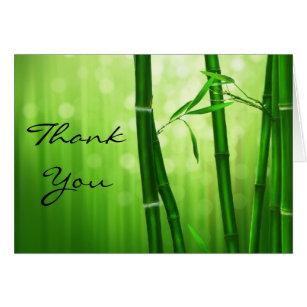 Green Bamboo Thank You