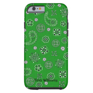 Green Bandana iPhone 6 case Tough iPhone 6 Case