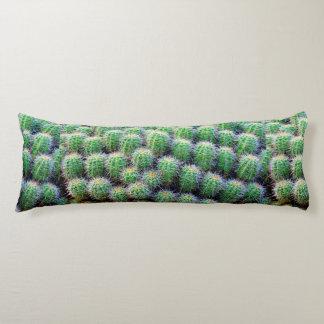 green barrel cactus body pillow