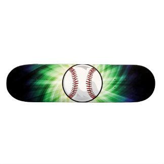 Green Baseball Skate Decks