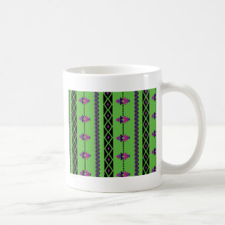 Green Basic White Mug