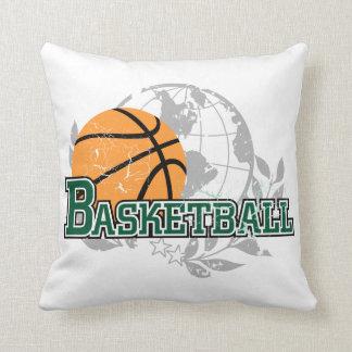 Green Basketball American MOJO Pillow