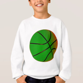 Green Basketball Sweatshirt