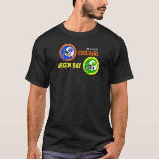 Green Bay 2011 NFC Champs Scores T-Shirt