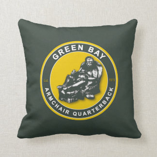 Green Bay American MoJo Football Pillow Cushion