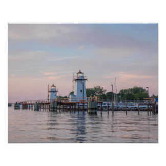 Green Bay Harbor Entrance Lighthouse Poster